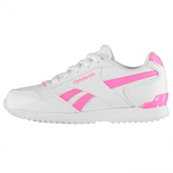 Reebok Glide Rip Clip Youngster Girls Sneakers Classic Laces Fastened Everyday
